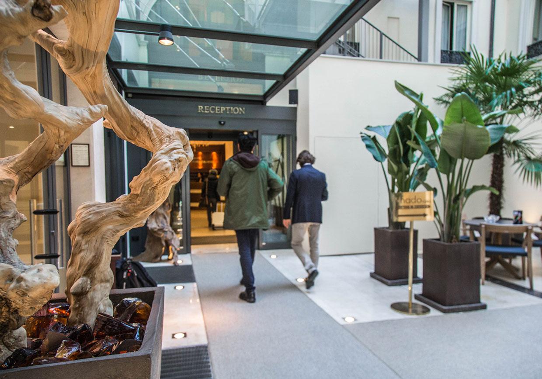 Ingresso worldhotel cristoforo colombo