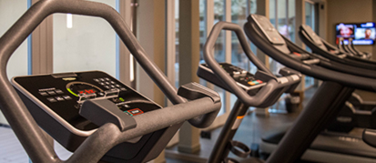 Fitness room detail worldhotel cristoforo colombo